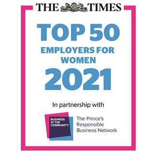 Enterprise named on Times Top 50 list of best employers for women